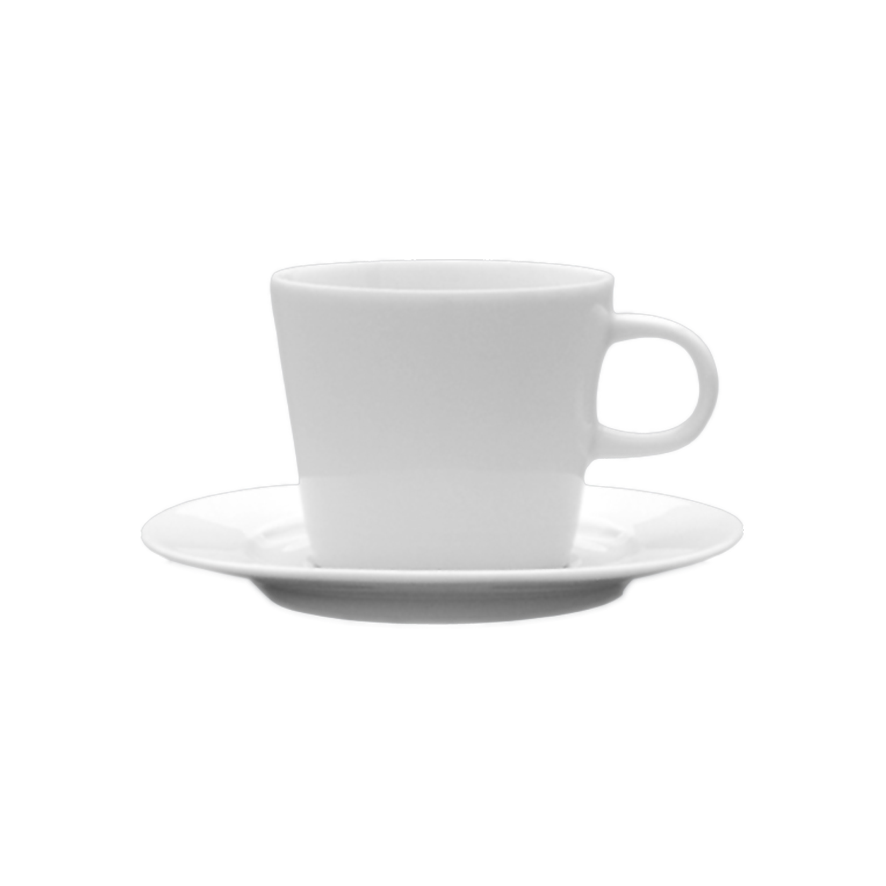 Porcelain cup with saucer Nela S, cup with saucer, nice cup and saucer, original cup and saucer, advertising porcelain, original porcelain, advertising cups with saucer,