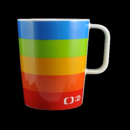 Porcelain mug Jane, Porcelain mug with logo, nice mug, original mug, imprint logo, printing logo, own color, own Pantone, advertising porcelain, original porcelain, advertising mugs