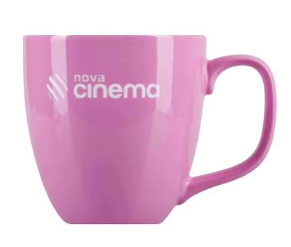 Porcelain mug Natali, Porcelain mug with logo, nice mug, original mug, coloring, glossy color, engraving logo, own color, own Pantone, advertising porcelain, original porcelain, advertising mugs,