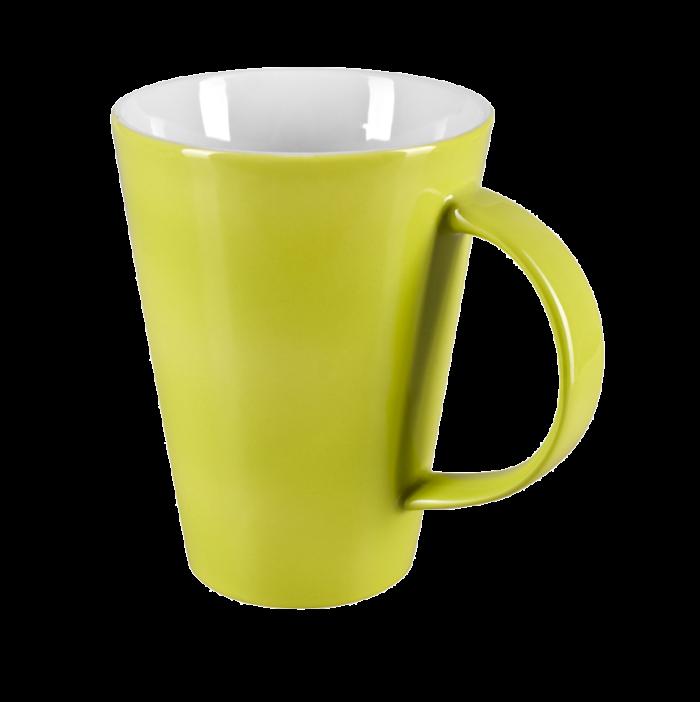 Porcelain mug Veronica, nice mug, original mug, coloring, glossy color, matt color, velvet color, own color, own Pantone, advertising porcelain, original porcelain, advertising mugs,