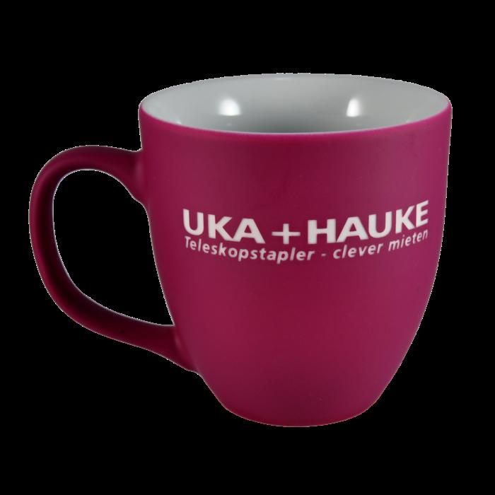 Porcelain mug Natali, Porcelain mug with logo, nice mug, original mug, coloring, matt color, velvet color, engraving logo, own color, own Pantone, advertising porcelain, original porcelain, advertising mugs