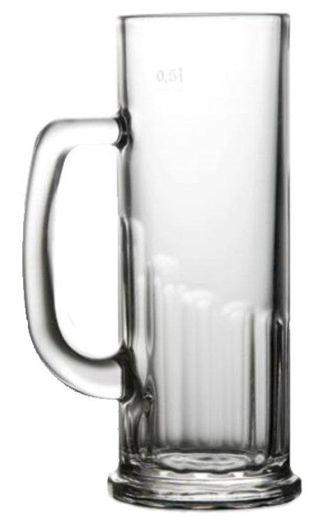Beer Glass John 500, beer glass, nice glass, original glass, advertising glasses