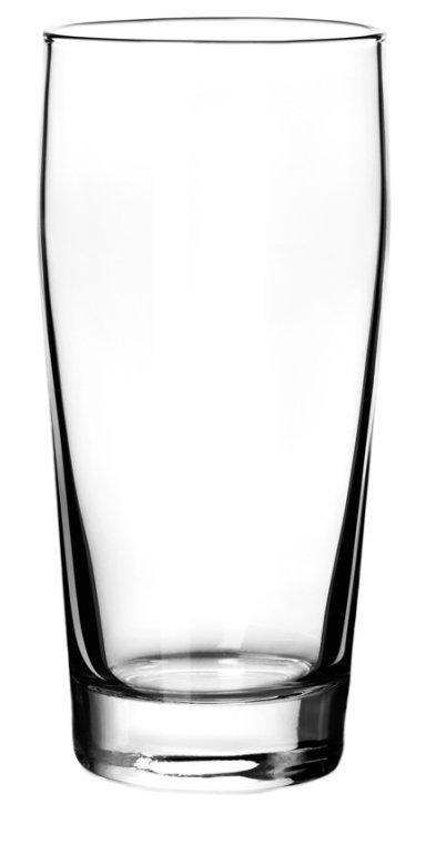Glass Klasa 500, beerglass, nice glass, original glass, advertising glasses