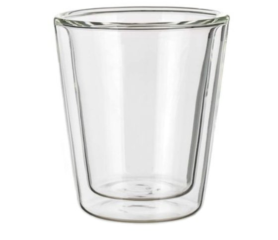 Double Wall Glas Dopio 170, double wall glass, nice glass, original glass, advertising glasses