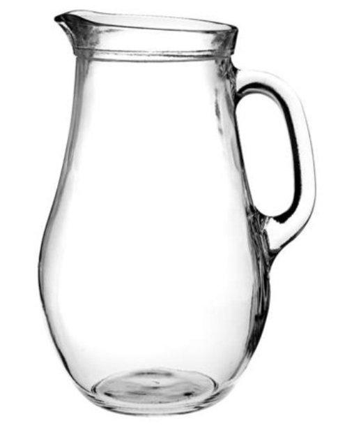 Glass Jug Bera 1000, Glass Jug, nice glass, original glass, advertising glasses