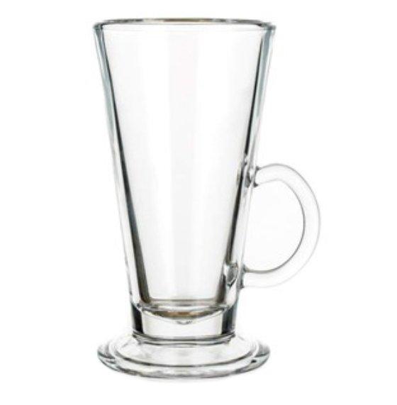Latte Glass Cola 260, Latte glass, nice glass, original glass, advertising glasses