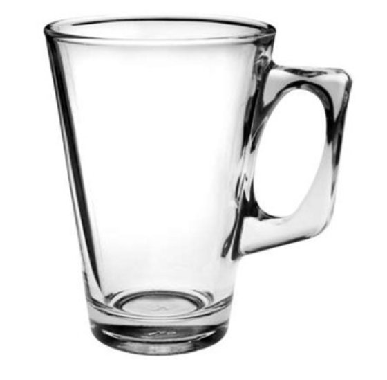 Latte Glass Tara 250, Latte glass, nice glass, original glass, advertising glasses