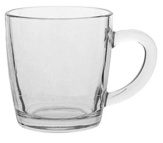 Glass Mug Kelly 330, glass mug, nice glass, original glass, advertising glasses