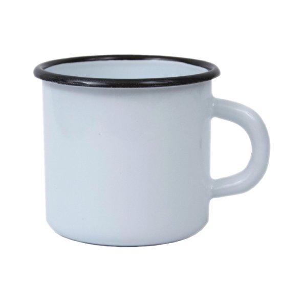 Enamel mug Viola, enamel mug, nice mug, original enamel mug, retro mug, coloring mug, own color, own Pantone, advertising mugs