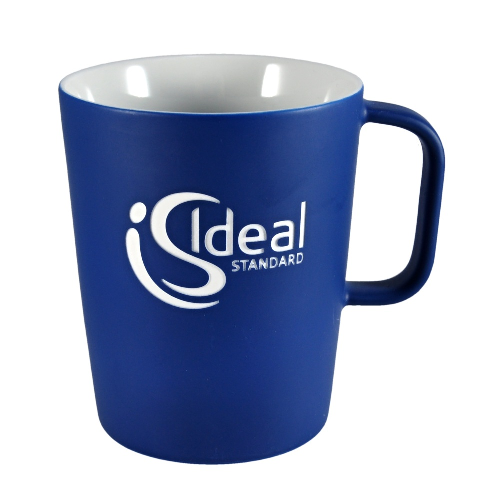 Porcelain mug Jane, Porcelain mug with logo, nice mug, original mug, coloring, glossy color, matt color, velvet color, engraving logo, colored engraving, imprint logo, printing logo, own color, own Pantone, advertising porcelain, original porcelain, advertising mugs,