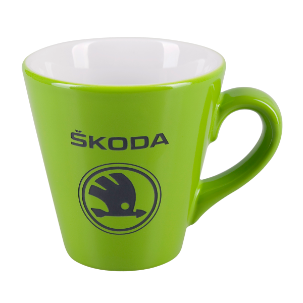 Porcelain mug Paula, Porcelain mug with logo, nice mug, original mug, coloring, glossy color, matt color, velvet color, engraving logo, colored engraving, imprint logo, printing logo, own color, own Pantone, advertising porcelain, original porcelain, advertising mugs