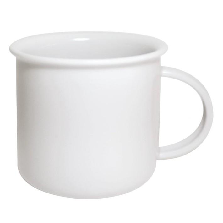 Porcelain mug Tara L, Porcelain mug with rim, nice mug, original mug, coloring rim